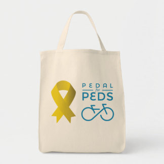 Official 2016 Pedal For Peds Grocery Bag