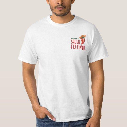 Official 4th Annual Salsa Festival Swag T-Shirt