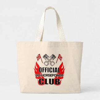 Official 800 HP Club Jumbo Tote Bag