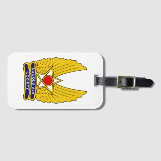 Official Arnold Air Society Luggage Tag w/ Strap