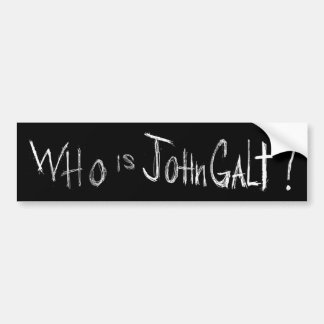 Official ATLAS SHRUGGED Movie Bumper Sticker - Blk