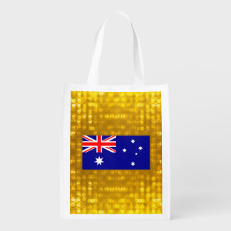 Official Australian Flag Grocery Bags