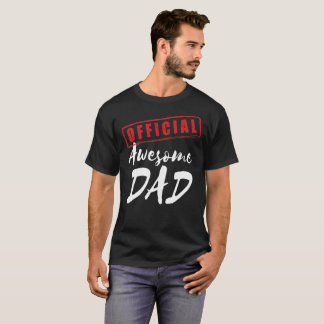 Official Awesome Dad T-shirt