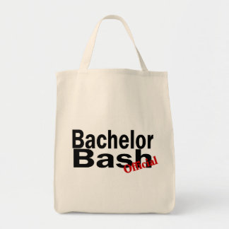 Official Bachelor Bash Grocery Tote Bag