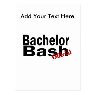 Official Bachelor Bash Postcards
