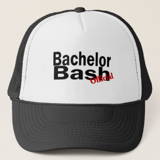 Official Bachelor Bash Trucker Hat