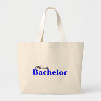 Official Bachelor (Blu) Canvas Bags