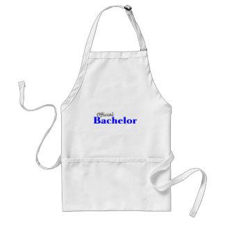 Official Bachelor (Blu) Standard Apron