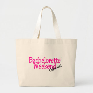 Official Bachelorette Weekend Large Tote Bag