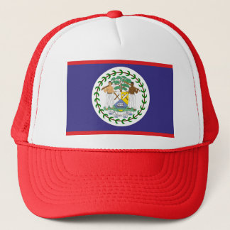 Official belize flag trucker hat