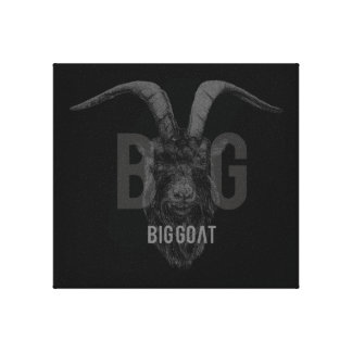 Official BIG GOΛT band art canvas