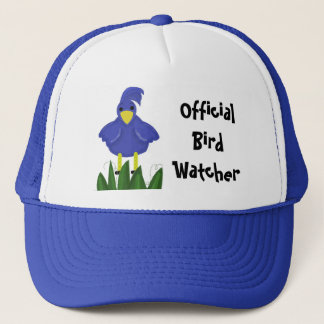 Official Bird Watcher - Blue Bird Trucker Hat