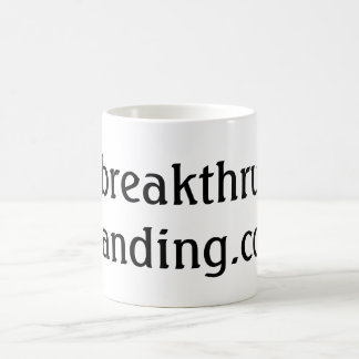 Official BreakthruBranding.com Coffee Mug