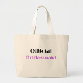 Official Bridesmaid Tote Bags