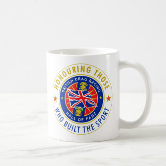 Official British Drag Racing Hall of Fame Mug