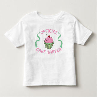 Official Cake Taster Tee Shirts