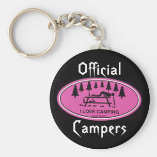 Official, Campers Keychain