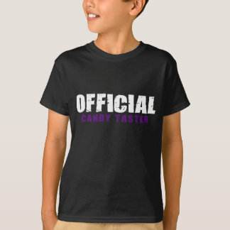 Official Candy Taster (Dark) T-shirts
