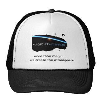 official cap magic atmosphere trucker hat