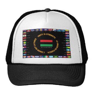 Official Caribbean Unity Flag Trucker Hat