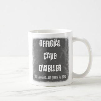 Official Cave Dwellers Classic White Coffee Mug