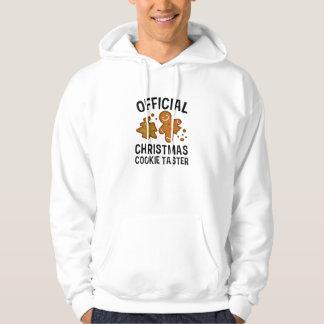 Official Christmas Cookie Taster Hoodie