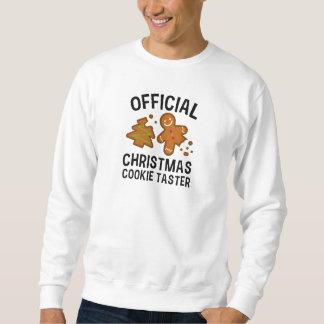 Official Christmas Cookie Taster Sweatshirt