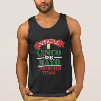 Official Cinco De Mayo Drinking Team Men's Tank