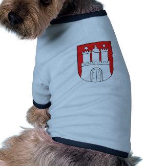 Official Coat of Arms Hamburg Germany Symbol Dog Tee