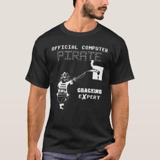 Official Computer Pirate Cracking Expert T-Shirt