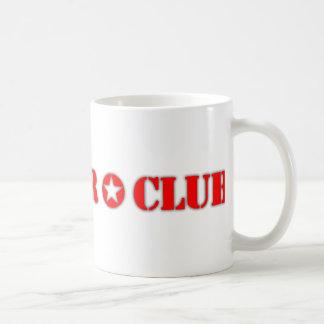 Official Conquer Club Classic White Coffee Mug