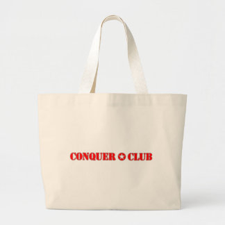 Official Conquer Club Jumbo Tote Bag