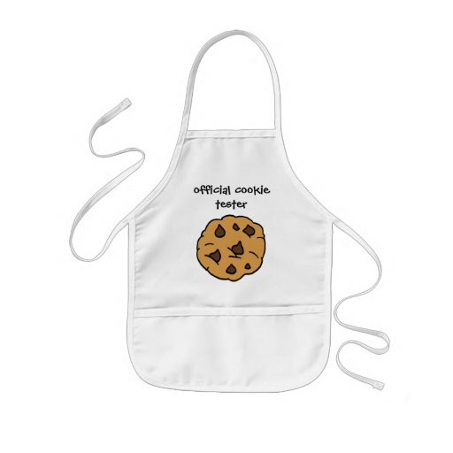 Official Cookie Tester, Chocolate Chip Cookies Apron