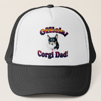 Official Corgi Dad - Mist Trucker Hat