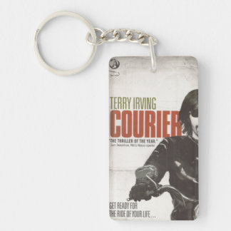 Official Courier Book Cover KeyChain