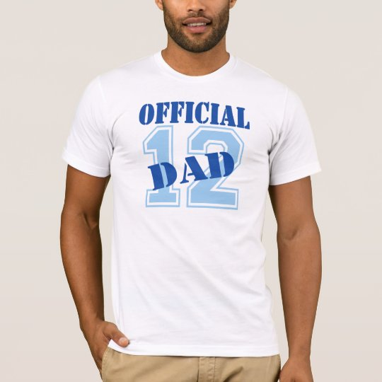 Official Dad 2012 T-Shirt