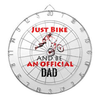 official dad dartboard