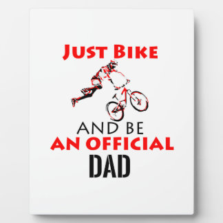 official dad plaque
