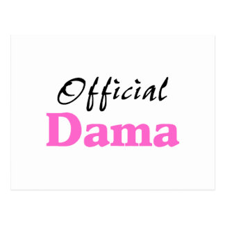 Official Dama Postcard