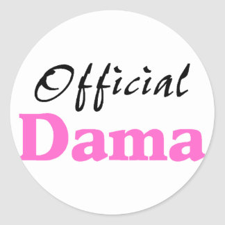 Official Dama Stickers