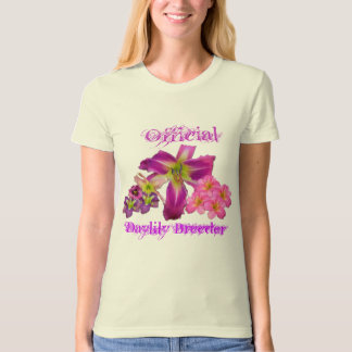 Official Daylily Breeder T-Shirt