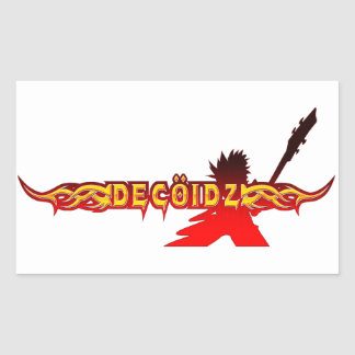 Official DECOIDZ Logo Sticker (DECÖIDZ)