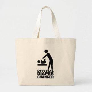 Official Diaper Changer Canvas Bags