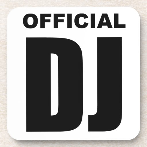 Official DJ Coasters