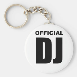 Official DJ Keychain