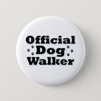 Official Dog Walker 2 Inch Round Button