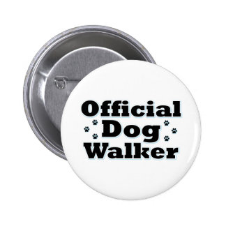 Official Dog Walker 2 Inch Round Button