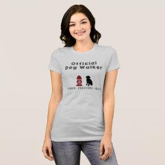 Official Dog Walker Tshirt
