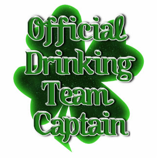 Official Drinking Team Captain Acrylic Cut Outs