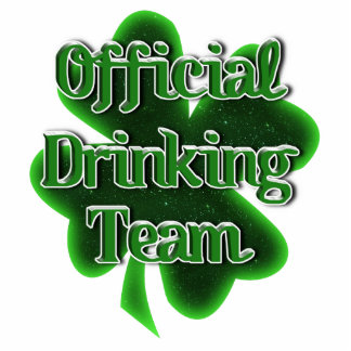 Official Drinking Team Acrylic Cut Out